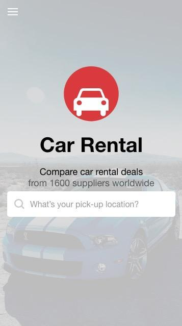 Car Rental Compare >> Hotwire Car Rental App Best Price Comparison For Android