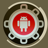 Sistema de reparación androide icono