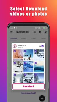 Photo & Video Downloader for Instagram poster