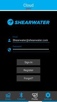 Shearwater screenshot 2