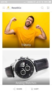 ReselliCo Online Shopping App India poster