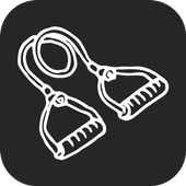 Resistance Band Workout Routine icon