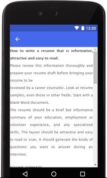 Resume Examples 2019 screenshot 2