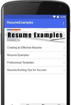 Resume Examples 2019 screenshot 5