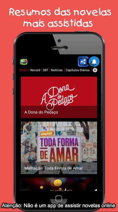 Resumos Das Novelas Para Android Apk Baixar