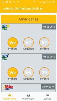 Loterías Dominicanas Activa screenshot 1