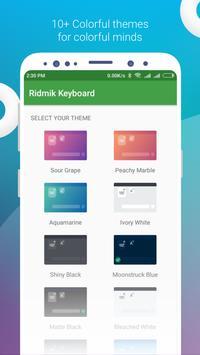1 Schermata Ridmik Classic Keyboard