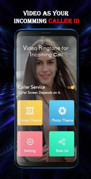 Video Caller ID - Ringtone Video Incoming Call poster