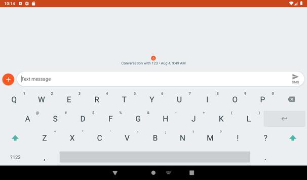 Simple Keyboard स्क्रीनशॉट 8