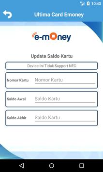 Ultima Emoney Mandiri Update Card screenshot 3
