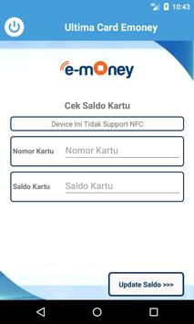 Ultima Emoney Mandiri Update Card screenshot 2