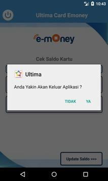 Ultima Emoney Mandiri Update Card screenshot 4