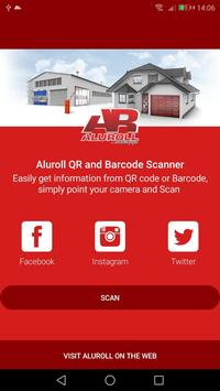 Aluroll QR Scanner poster