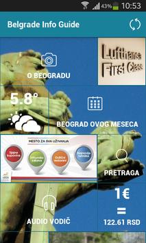 Belgrade Info Guide screenshot 1