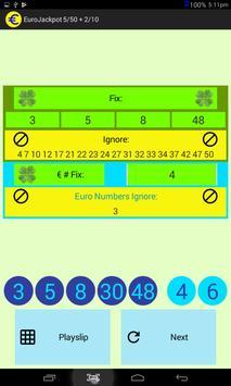 EuroJackpot 5/50 + 2/10 screenshot 5