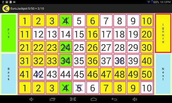 EuroJackpot 5/50 + 2/10 screenshot 7