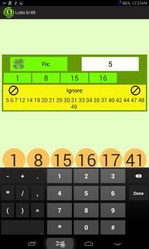 Lotto 6/49 screenshot 4