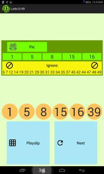 Lotto 6/49 screenshot 5
