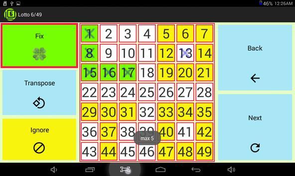 Lotto 6/49 screenshot 7