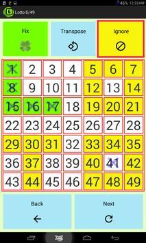 Lotto 6/49 screenshot 1