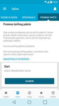Moj Telenor screenshot 5