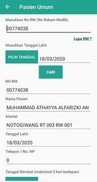 Pendaftaran Online RSUD Purbalingga screenshot 1