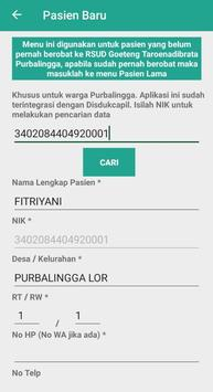 Pendaftaran Online RSUD Purbalingga screenshot 4