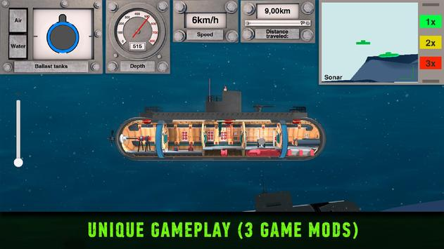 Nuclear War Submarine inc Indie Hardcore Simulator screenshot 2