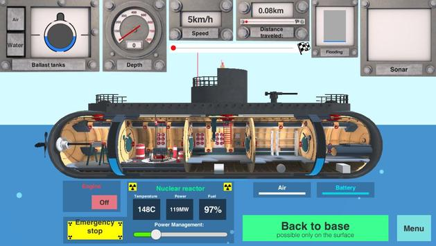 Nuclear Submarine inc screenshot 3