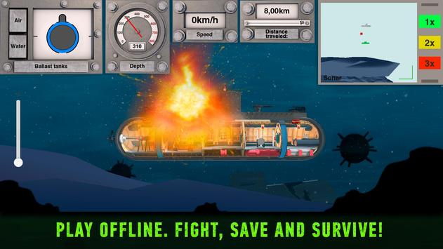Simulator of Nuclear Submarine inc: indie Hardcore ポスター