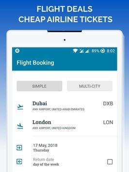 Flight deals - Cheap Airline Tickets screenshot 5