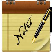 Bloc-notes icône