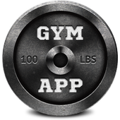 Gym App Workout Log & tracker for Fitness training icon
