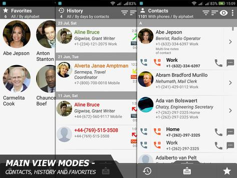 Phone and Contacts - AGContacts, Lite edition screenshot 16
