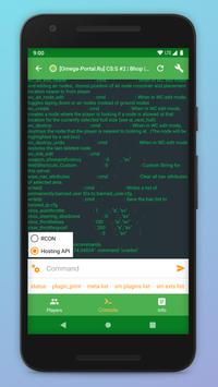 Game Server Control Panel Screenshot 4