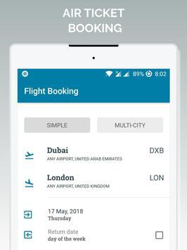 Air Ticket Booking screenshot 5