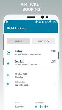 Air Ticket Booking poster
