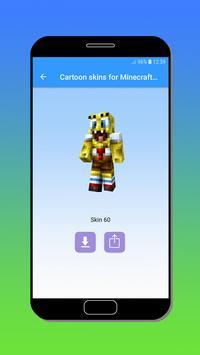 Cartoon skins for Minecraft MCPE screenshot 2