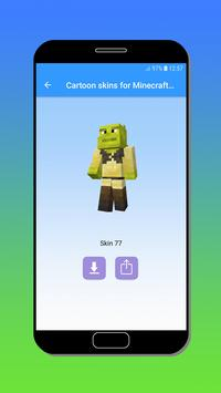 Cartoon skins for Minecraft MCPE screenshot 3