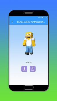 Cartoon skins for Minecraft MCPE screenshot 6