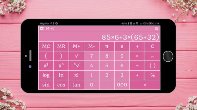 Calculatrice capture d'écran 6