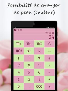 Calculatrice capture d'écran 10