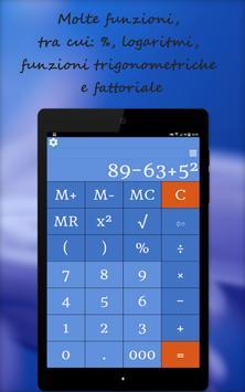 19 Schermata Calcolatrice