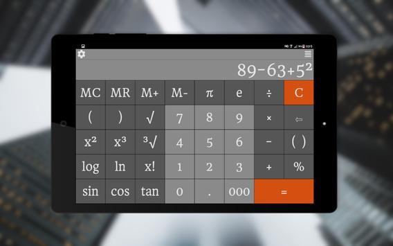 23 Schermata Calcolatrice