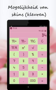 Rekenmachine screenshot 18