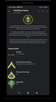 US military ranks screenshot 1