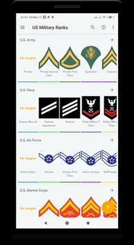 US military ranks screenshot 7