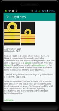 British military ranks 스크린샷 6