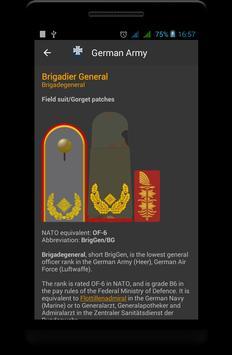 Germany military ranks screenshot 3