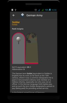 Germany military ranks screenshot 1
